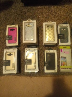 Samsung Galaxy phone cases Screen savers too all New. All going for one price. Can't lose. for Sale in Brooklyn Park, MD