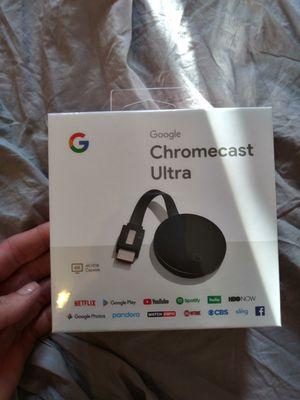 Chromecast ultra for Sale in Jurupa Valley, CA