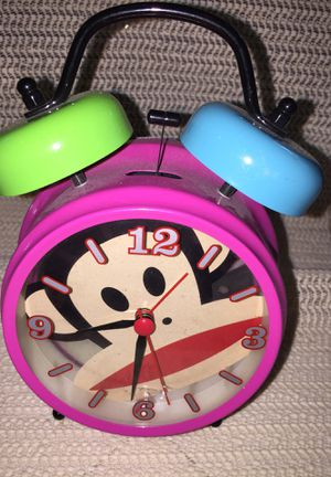 Paul frank clock with alarm for Sale in Fresno, CA