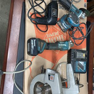 Bundle Of Mikita And Black And Decker Power Tools for Sale in Auburn, WA