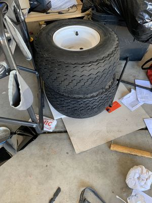 Golf cart rims and tires for Sale in Peoria, AZ