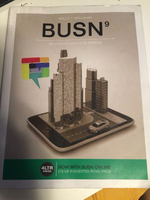 BUSN introduction to business for Sale in Portland, OR