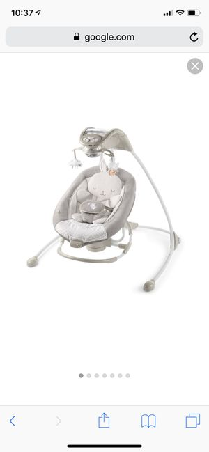 Ingenuity twinkle tails baby swing for Sale, used for sale  Brooklyn, NY