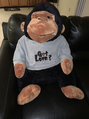 Xtra Large Stuffed Monkey for Sale in Upper Marlboro, MD