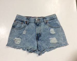 Levi's 550 Distressed Denim Cutoffs for Sale in Memphis, TN
