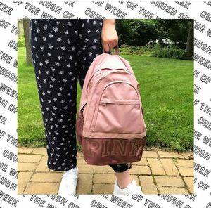 New Victoria's Secret Pink Rose collegiate backpack pink for Sale in Brea, CA