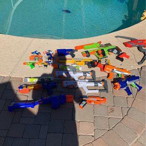 Lot Of Nerf Guns for Sale in Scottsdale, AZ