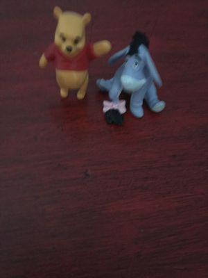 Winnie the Pooh and Eeyore figures for Sale in Frederick, MD