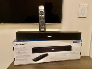 NEW Bose Solo 5 TV Soundbar Premium Sound Audio Speaker Entertainment System, Remote Control, Black for Sale in New York, NY
