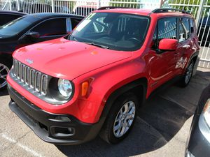 2017 jeep renegade extra clean WE APPROVE EVERYONE BUY HERE PAY HERE todos califican COMPRE AQUI PAGUE AQUI for Sale in Phoenix, AZ