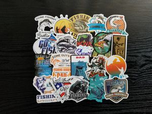 Go Fishing Outdoor Camping Waterproof Stickers 100pc for Sale in Torrance, CA