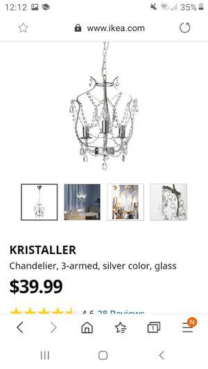 Ikea Kristaller Chandelier for Sale in Clovis, CA