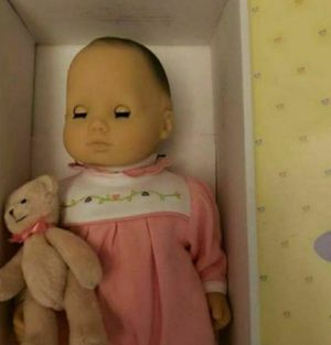 American girl bitty baby with bear for Sale in Reading, PA