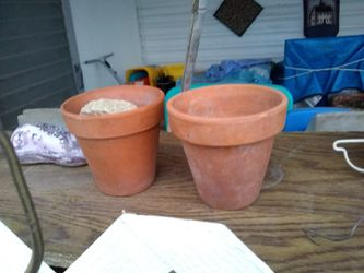 2 Smaller pots, great for starter plants or herbs for Sale in Tucson,  AZ