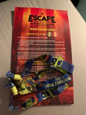 Escape Halloween 2 Day Pass for Sale in Midway City, CA