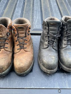 Men's Leather Work Boots - Size 12 for Sale in Vancouver,  WA