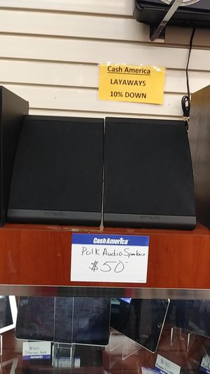 Polk audio speakers for Sale in Chicago, IL