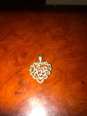 Silver NANA charm for Sale in Beaumont, TX