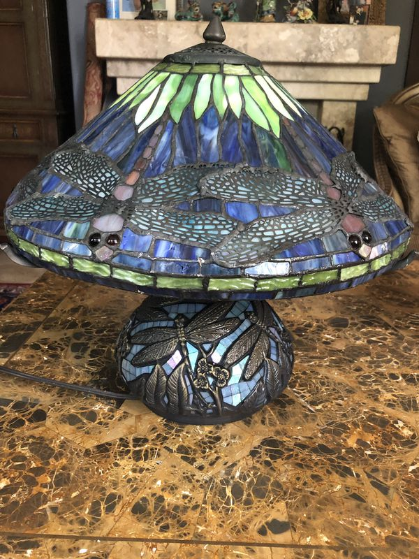 Tiffany Style Lamp By Fred Meyer For Sale In Carlsbad Ca