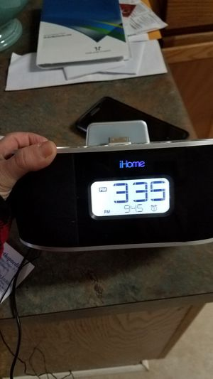 Ihome clock for Sale in Birmingham, AL