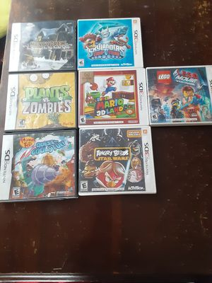 Nintendo 3ds games cases for Sale in Willard, OH