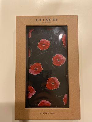 "Coach ""Poppy"" X iPhone case brand new for Sale in Glendale, AZ"