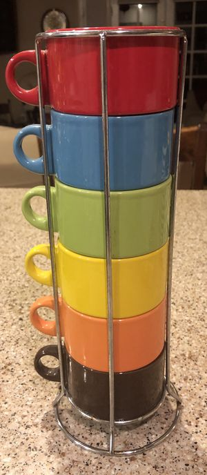 6 cup set for Sale in San Dimas, CA