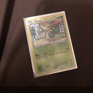snivy halo pokemon card 1/12 for Sale in Odessa, FL