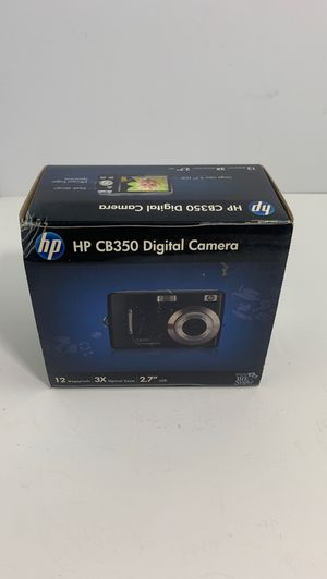 """HP CB350 Digital Camera Red (12MP x3 zoom, 2.7"""" LCD NEW for Sale in Elgin, IL"""