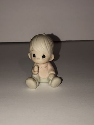 "Precious moments 3"" porcelain figurines for Sale in Corona, CA"