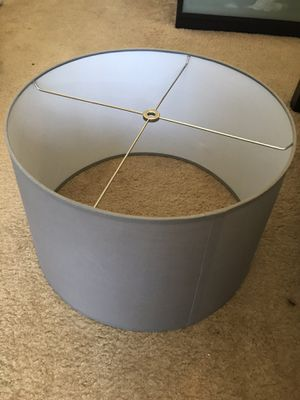 Grey lamp shade for Sale in San Diego, CA
