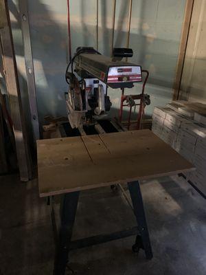 Craftsman 10 inch radial arm saw for Sale in Kailua-Kona, HI