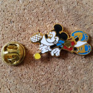 Disney Mickey Mouse Pin Tennis Racket for Sale in Riverside, CA
