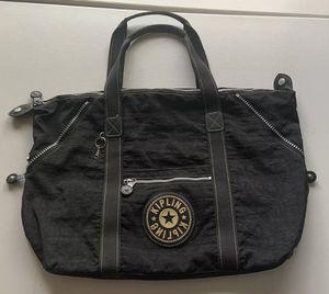 KIPLING Black Nylon Medium TRAVEL Duffle Carry All Tote Bag for Sale in Wellington, FL