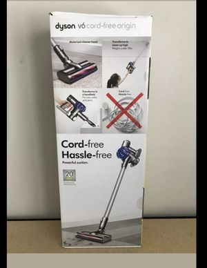 Dyson V6 origin cord free vacuum. Brand new and sealed for Sale in Houston, TX