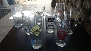 beer glasses collectable for Sale in Hacienda Heights, CA