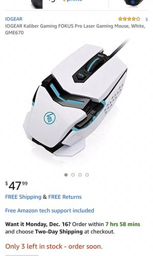 Gaming mouse for Sale in Laredo, TX