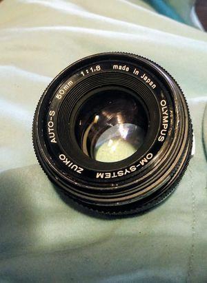 Olympus 50mm lens for Sale in Montgomery, AL