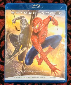 Spider-Man 3 (Blu-ray Disc, 2007, 2-Disc Set) for Sale in Orlando, FL