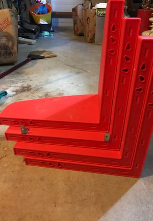 Plastic wall shelves for Sale in Fort Lauderdale, FL