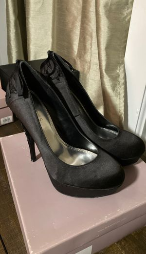 Bakers Satin Laced Back Heels Size 8.5 for Sale in East Point, GA