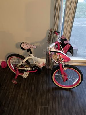 Kids bike and helmet for Sale in Norfolk, VA