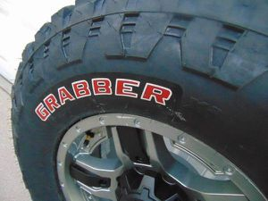 17X9 Gunmetal/Black Rims LT 295 70 17 General Grabber X3 Tires *8X6.5* for Sale in Aurora, CO