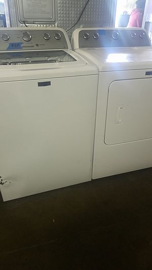 Maytag dryer and washer set 4 months warranty for Sale in Baltimore, MD
