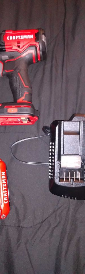 Craftsman 20 volt cordless drill for Sale in Barrington, NJ