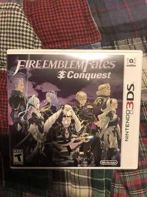 Nintendo 3ds Fire Emblem Fates Conquest for Sale in Puyallup, WA