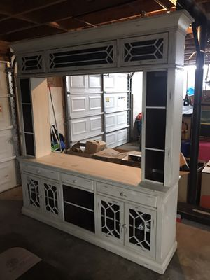 Entertainment Center (solid wood) for Sale in Austell, GA
