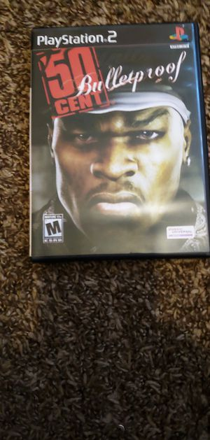 PS2 50cent Bulletproof for Sale in North Las Vegas, NV