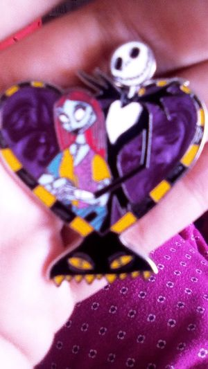 Jack and Sally before Christmas pin one of a kind for Sale in Santa Ana, CA