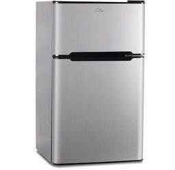 3.2 cu. ft. Freestanding Mini Fridge with Freezer Stainless Steel for Sale in Philadelphia,  PA